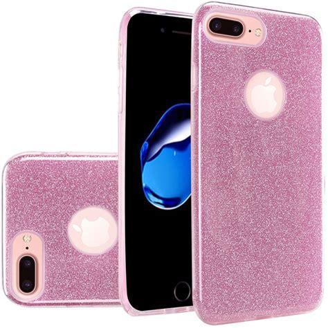 for apple iphone 7 6s 6 plus tpu glitter shiny bling hybrid cover ebay