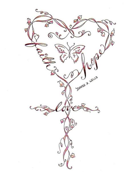 girly cross tattoos feminine cross tattoos tattoos