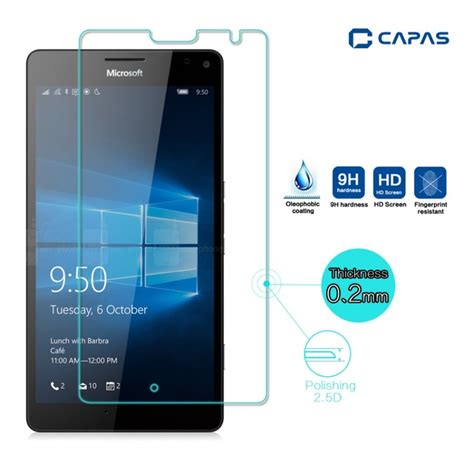 Screen Guard Tempered Glass Microsoft Lumia 640 High Quality aliexpress buy for microsoft lumia 950xl tempered