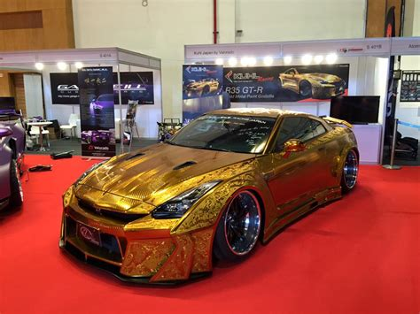 nissan gold gold engraved nissan gt r costs 1 million