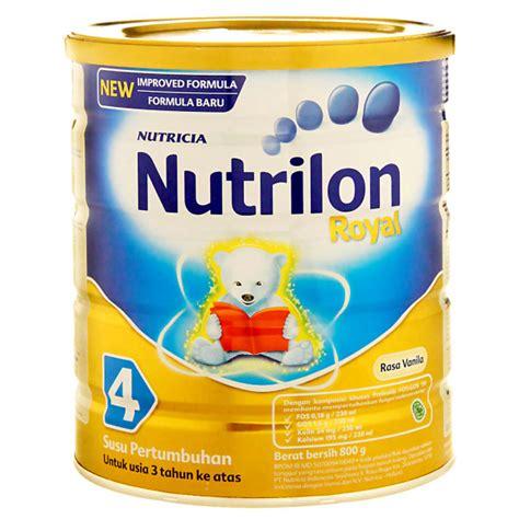 Nutrilon 3 Vanila 800 Gr Tin nutricia nutrilon royal 4 vanila warung instant