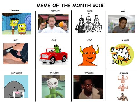 Meme Calendar - exclusive 2018 calendar meme of the month calendars