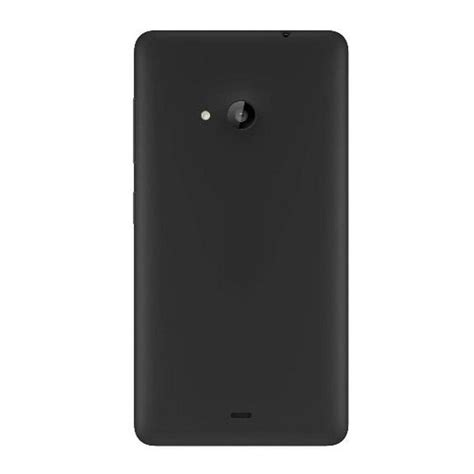 Microsoft Lumia 535 Dual Sim housing for microsoft lumia 535 dual sim black maxbhi