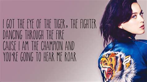 lyrics katy perry katy perry roar karaoke instrumental with lyrics