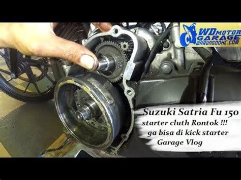 Switch Starter Kopling Satria Fu perbaikan suzuki satria fu 150 starter cluth rontok