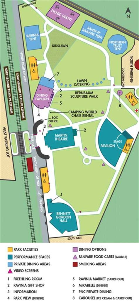 printable ravinia schedule 2015 ravinia festival official site park map