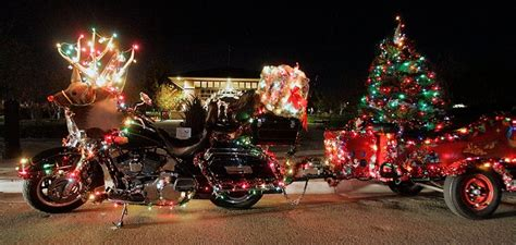 harley davidson motorcycle christmas lights 17 best images about harley on villages harley