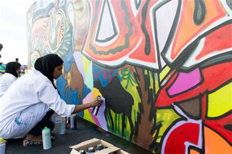 graffiti wallpaper dubai dubai s rehlatna breaks world record for longest