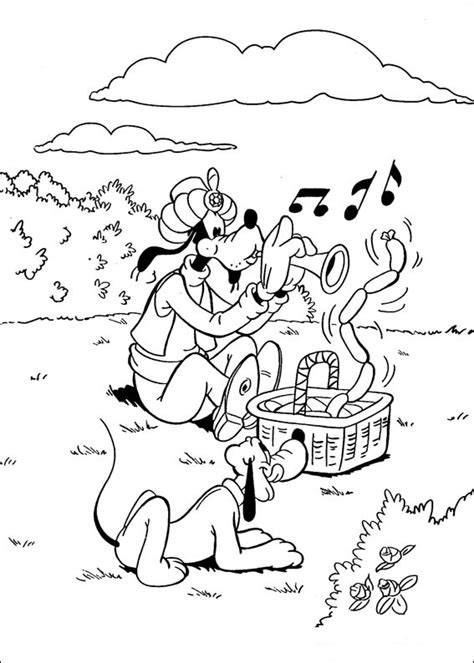Fun Coloring Pages: Disney Goofy Coloring Pages