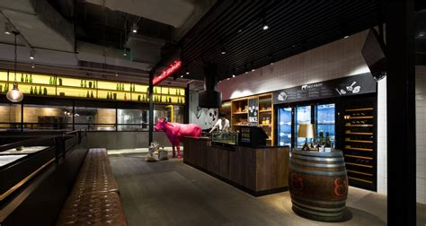 small town party steak house  guangzhou  architect