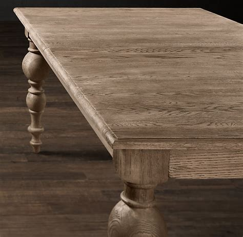 weathered oak kitchen table pin by christabel on restorationhardware
