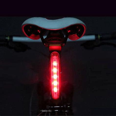 Led Light Strips For Bikes Cycling Bright 5 Led Rear Light Bike Bicycle 4 Modes L Cad 1 26