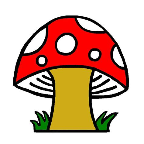 Clipart Of clipart of mushrooms clipart best