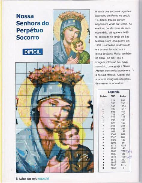 imagenes religiosas bordadas en punto de cruz patrones de imagenes religiosas en punto de cruz imagui