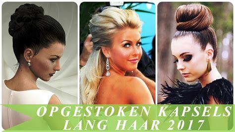 Opsteekkapsels Lang Haar by Opgestoken Kapsels Lang Haar 2017