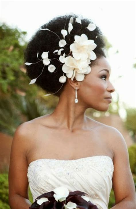 frican American Bride Hairstyles 18   African American