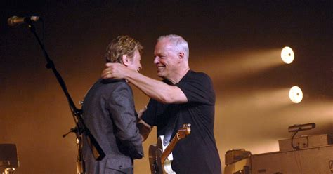 comfortably numb bowie flashback david gilmour and david bowie sing comfortably