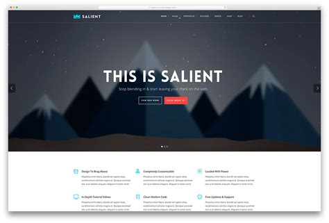 40 superior flat design wordpress themes for enterprise