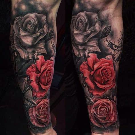 tatuae re black rose tattoo 1815 mejores 70 im 225 genes de ideas tattoo en pinterest