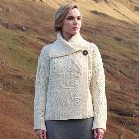 comptoirs irlandais pulls vestes et accessoires aran pull irlandais