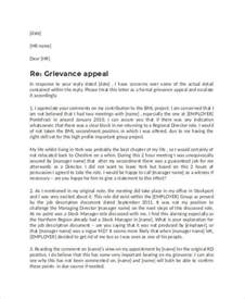 Grievance Appeal Letter Template Free Formal Letter Templates 54 Free Word Pdf Document Free Premium Templates