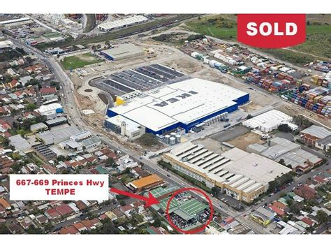 Ikea Tempe Floor Map by 667 669 Princes Highway Tempe Nsw 2044 Sold Industrial