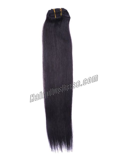26 inch 1b 613 clip 26 inch 1b black clip in remy human hair