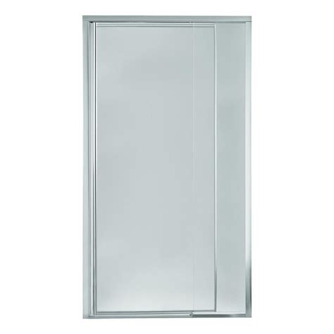 Sterling Pivot Shower Door Installation Sterling Vista Pivot Ii 36 In X 69 In Framed Pivot Shower Door In Silver 1530d 36s The Home