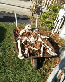 Halloween Yard Decorating 50 Easy Diy Outdoor Halloween Decoration Ideas For 2017