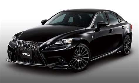 lexus coupe black 2014 lexus is gets trd upgrades