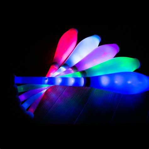 Led Glow kosmos js2 supernova led glow juggling clubs