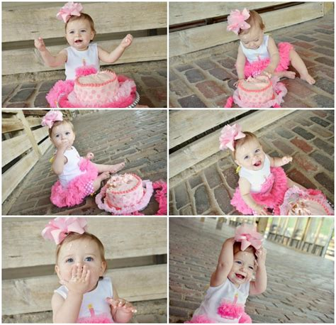 how to prepare for first birthday picturesmaking a giant first birthday smash cake the bakermama