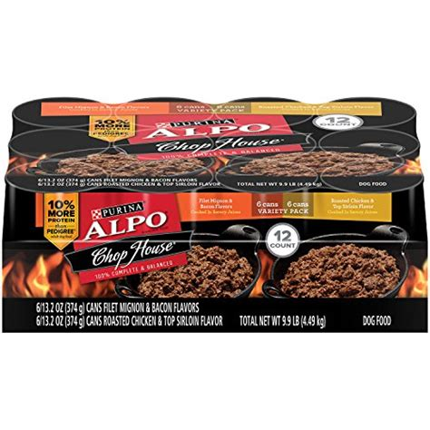 alpo chop house dog food purina alpo chop house wet dog food 12 13 2 oz cans your best appliances