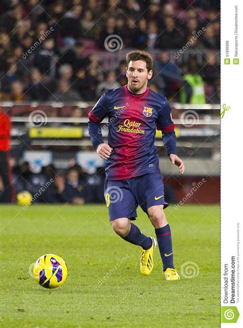 barcelona last match lionel messi fcb editorial stock photo image 51898988