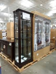 Glass Display Cabinet Costco Pulaski Kensington Display Cabinet