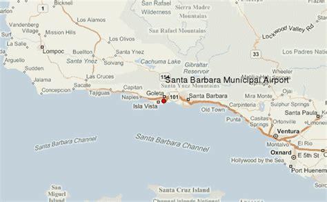 california map near santa barbara santa barbara municipal airport location guide