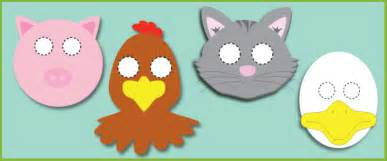 little red hen role play masks free story resources