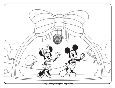 Mickey Mouse Clubhouse 4 Free Disney Coloring Sheets Mickey Mouse Clubhouse Coloring Pages Free