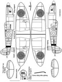 aviom template spitfire paper model