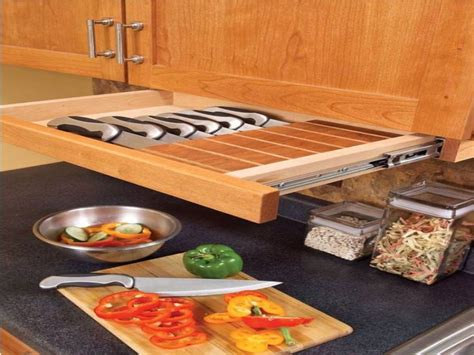 Kitchen Cabinet Spice Organizers by Drawer Knife Block Under Cabinet Knife Drawer