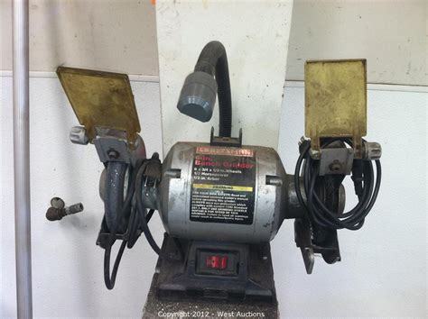 bench grinder switch west auctions auction post auction sale hydraulic