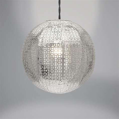 Silver Ceiling Light Shades Moroccan Bronze Silver Copper Chandelier Pendant Ceiling Light Home L Shade Ebay