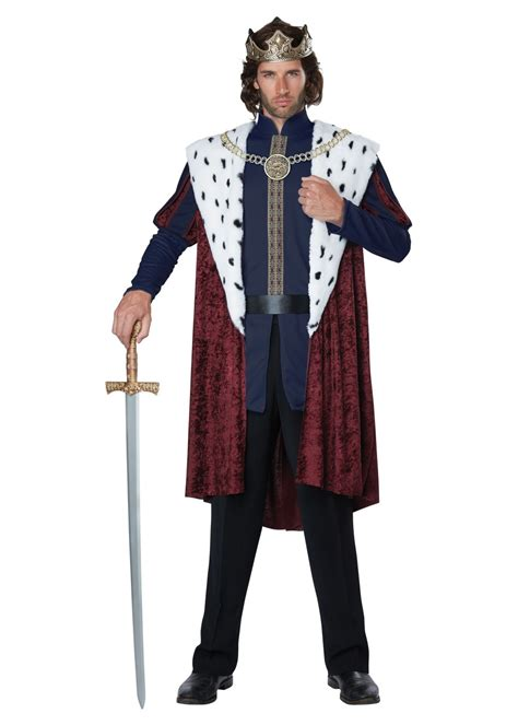 royal king men costume renaissance costumes