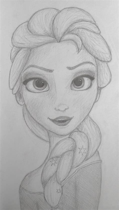 how to draw elsa doodle draw drawings of elsa new calendar template site
