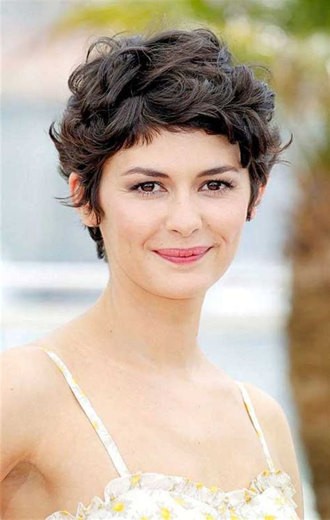 cute short haircuts for thick hair wavy hair 15 cute curly hairstyles for short hair short