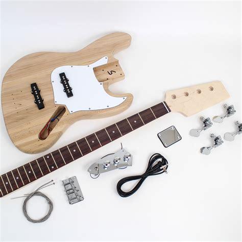 diy bass guitar kit jazz bass style guitar kit ash diy guitars