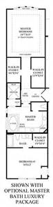 luxury bathroom floor plans the reserve at katy the venetian home design