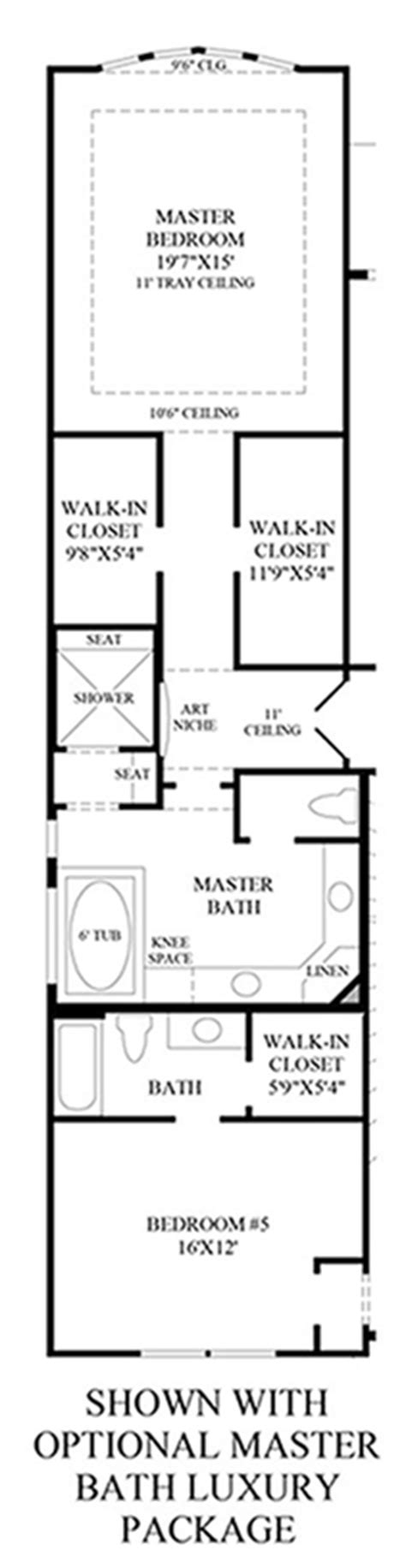 Luxury Master Bathroom Floor Plans The Reserve At Katy The Venetian Home Design