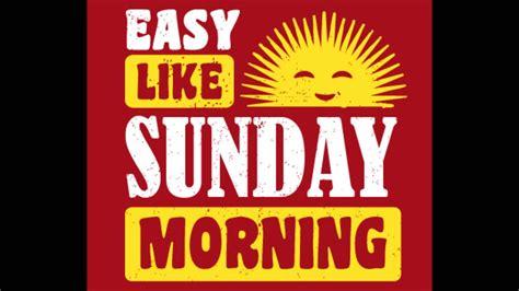 Sunday Morning Memes - faith no more easy like sunday morning youtube