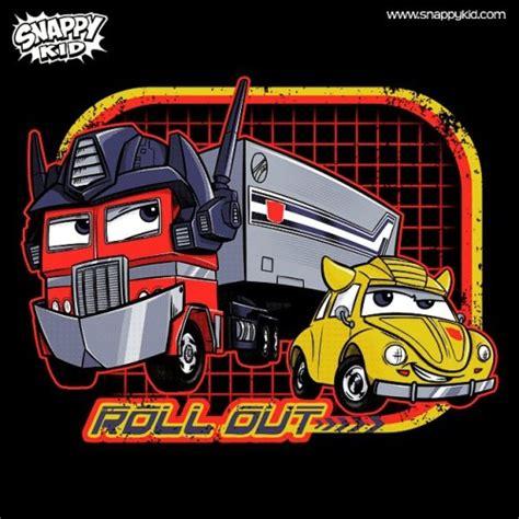 T Shirt Transformers A O E 01 snappy kid
